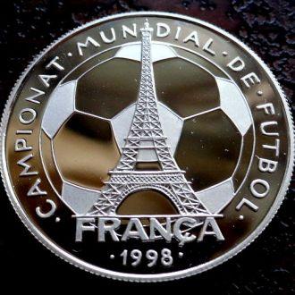 10 динаров Андорра  РЕДКАЯ!!! PROOF!!! серебро