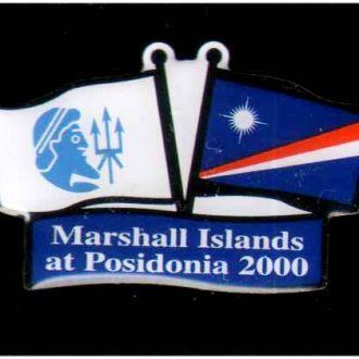 Маршаловы о-ва на Посейдонии 2000 г - очень редко
