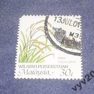 Малайзия-1986 г.-Рис