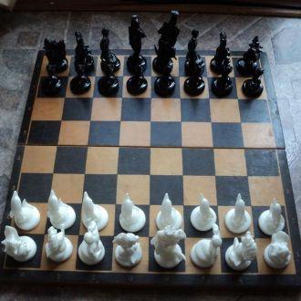 Шахматы Морские обитатели Редкие