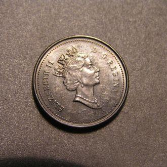 CANADA Канада 1988 центів 10 cents Центов центів