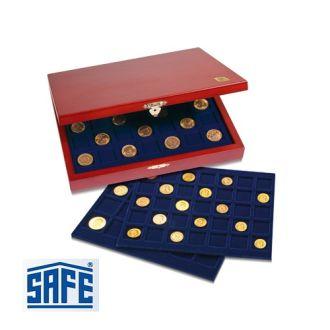 Бокс для монет деревянный + планшеты SAFE Германия