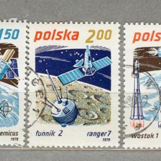 Польша Космос 1979 (гаш.)