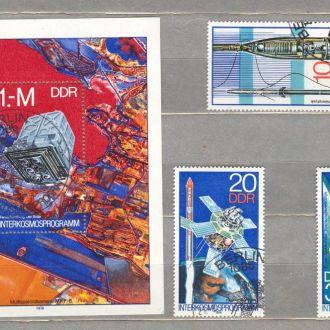 Германия ГДР Программа Интеркосмос 1978 (гаш.)