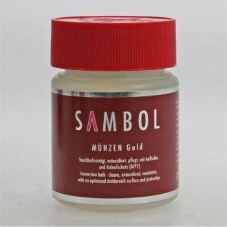 Средство для чистки монет Sambol - золото
