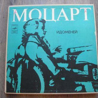 Виниловые пластинки Моцарт Идоменей 3 шт  Mint