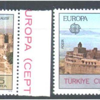 ZM Турция Европа СЕПТ 1978 г  MNH