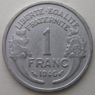 Франция 1 франк 1946 год