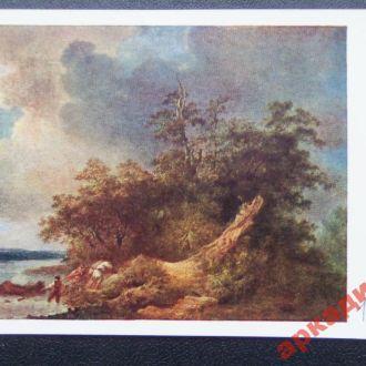 открытки(пейзаж) антикварные-худ Лепренс1963г