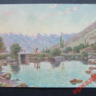 открытки(пейзаж) антикварные-худ Карахан 1958г