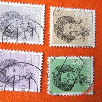 марки -Нидерланды-4марки