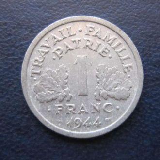 1 франк Франция 1944