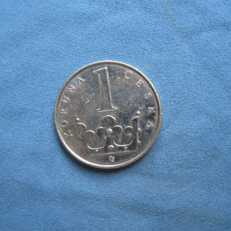 Чехия 1 крона 1995 год