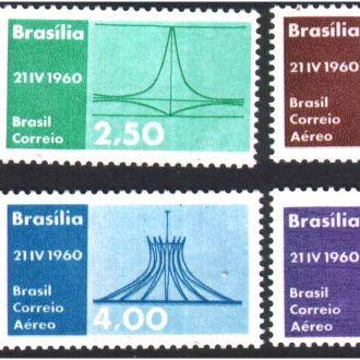 ZM А Бразилия 1960  г MNH - серия