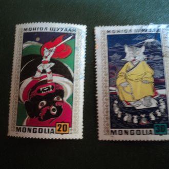 Монголия.  Сказки. Мультфильмы.
