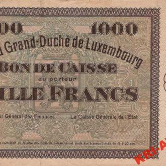 Люксембург 1000 франков 1932 год. КОПИЯ