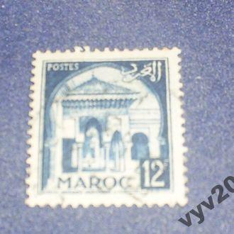 Франц. Марокко-1952 г.-Архитектура, стандарт