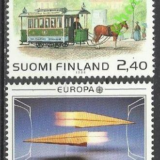 Финляндия 1988 Европа СЕПТ транспорт связь 2м.**