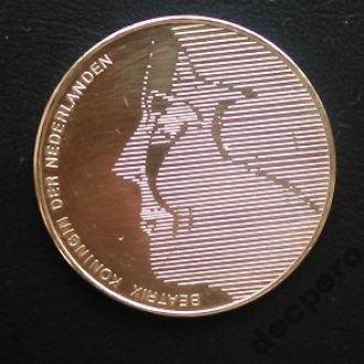 Нидерланды 50 гульденов 1984 г.Серебро 25 г.