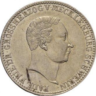 Мекленбург Шверин 2/3 талера 1840 RRR!