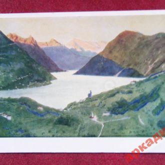 открытки(пейзаж) антиквар-худ Бенуа 1966г
