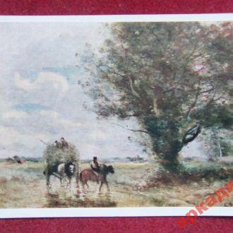 открытки(пейзаж) антиквар-худ Коро 1958г