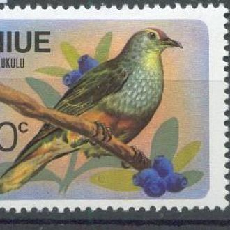 Ниуэ 1971 Фауна Птицы 3м.*