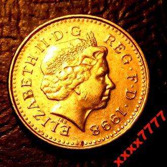 5 пенсов 1998 года Великобритания
