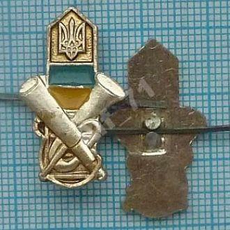 Эмблема ПВ Украины. Пограничные войска. Столб. Прикордонник 1997