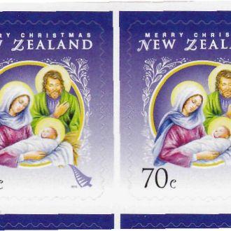 Нов.Зеландия 2012 ЖИВОПИСЬ Рождество Буклет NZ$7.-