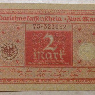 2 марки 1920 UNC