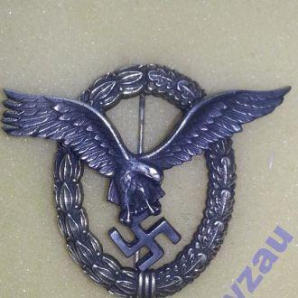 Германия 3 Рейх Нагрудный знак Военный летчик R !