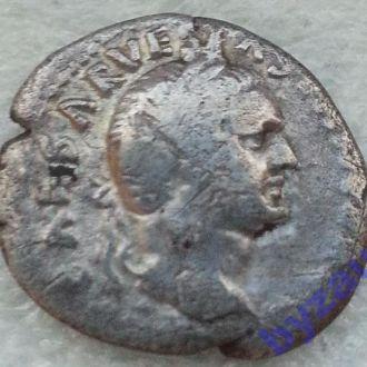 РИМ, Веспасиан, денарий Иудея - nice F Rare