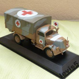Opel Blitz 3,6 36S Medic Egypt 1942 Eaglemoss 1:43