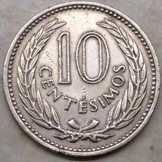 Уругвай 10 сентесимо 1959