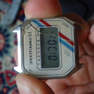 часы Электроника 53 рабочие 15093