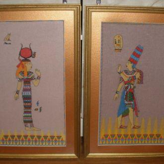 Два шикарных гобелена, Египет.