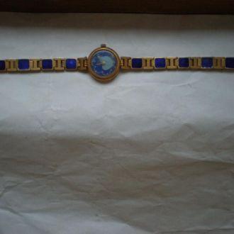 часы Чайка позолота интересное исполнение 0202