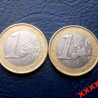 2 евро 2002 года Германия  СОСТОЯНИЕ !!!