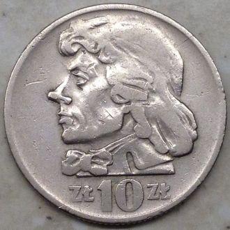 Польша 10 злотых 1959