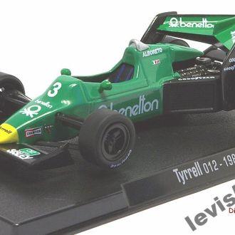 Tyrrell 012 - 1983 Alboreto Масштаб 1:43 RBA
