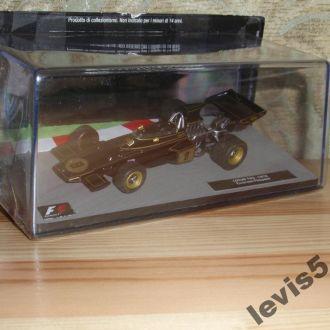 F1 Lotus 72D Emerson Fittipaldi 1972 масш 1:43 IXO