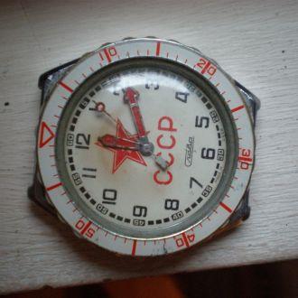 часы Слава интересная модель СССР со звездой 28068
