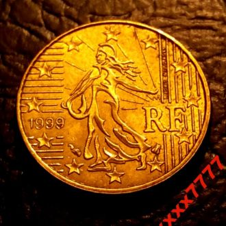 10 евроцентов 1999 года Франция СОСТОЯНИЕ !!!