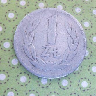 Польша монета 1 злотый 1949 год !