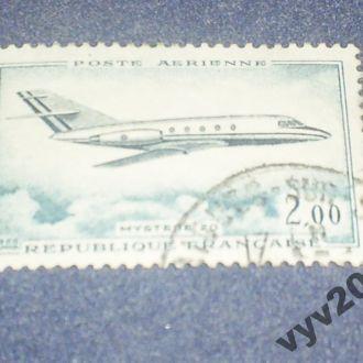 Франция-1965 г.-Самолет (полная)