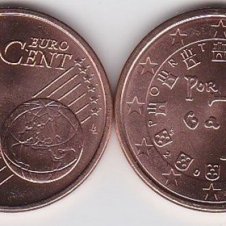 Portugal Португалия - 5 Cent 2011 UNC JavirNV