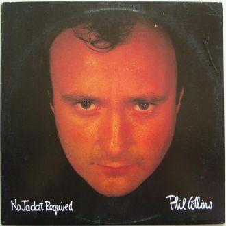 PHIL COLLINS   No Jacket Required  LP EX(+)/VG++