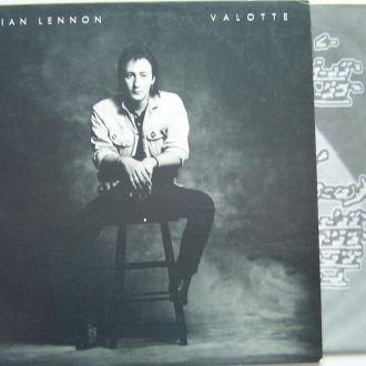 JULIAN LENNON  Valotte  LP EX-