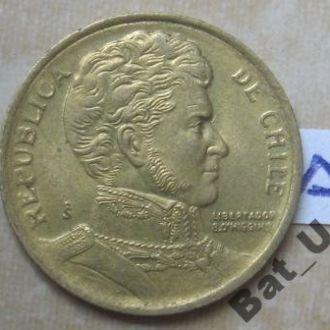Чили, 10 песо 1997 года